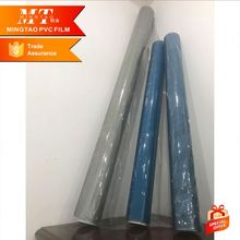 clear soft blue plastic PE protective film for glass and door