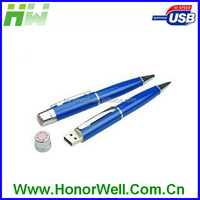 Cheap Wholesale Laser Engraving Metal Pen USB Stick