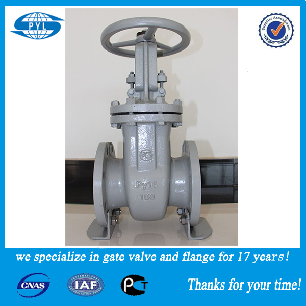stainless steel 3-way gate valve exporting for Russia