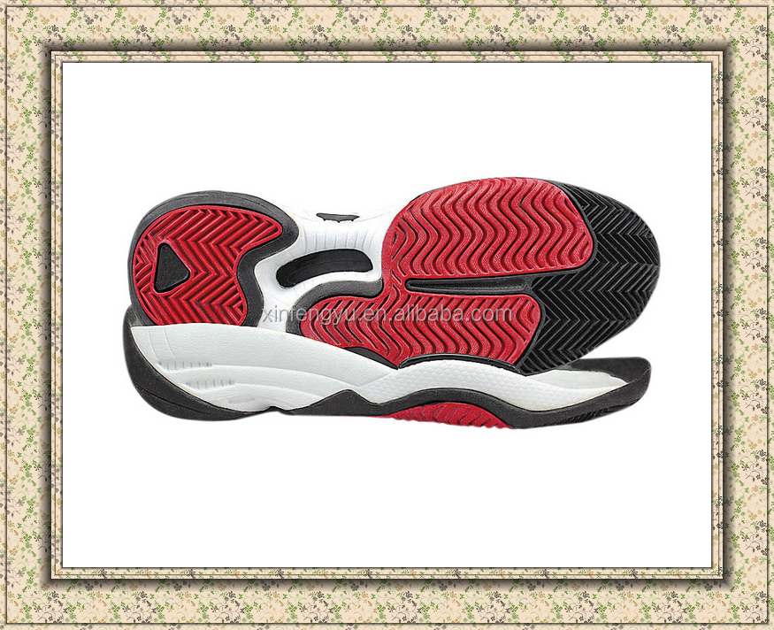 2017 in china fashion discounted tennis shoe sole
