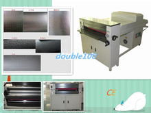 China biggest manufacture high gloss multi rollers textures uv coating / lamination machine