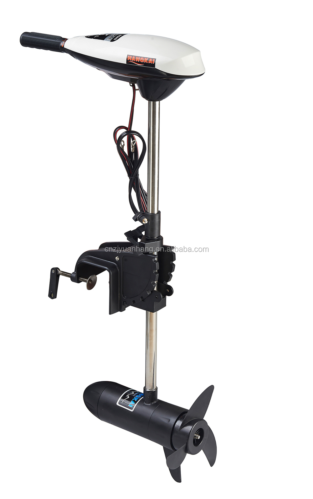 Durable 55lbs thrust electric trolling motor for for Kayak electric trolling motor