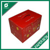 SPECIAL DESIGN CUSTOM WATERPROOF CORRUGATED CARTON BOX FRESH FRUITS PACKING BOXES WITH PLASTIC HANDLES