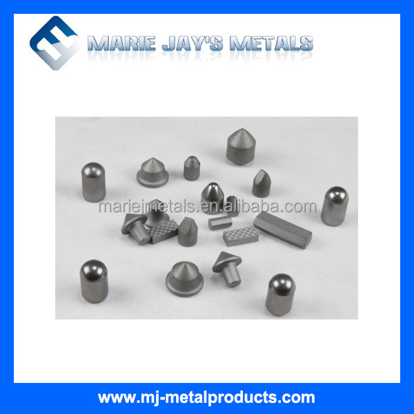 Developing solid carbide mining bits for mineral