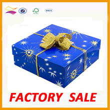 2015 Customized Christmas gift packaging box suppiler