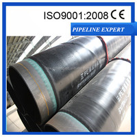epoxy powder bonded 3layer pe coating anti-corrosive steel oil and gas pipeline