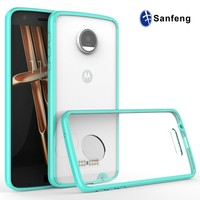 Protective Frame Case Cover for Cell Phone Motorola Moto Z Droid Edition
