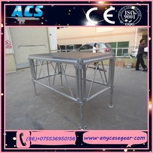 ACS concert equipment aluminum foldable stage&Lighting Truss Exhibition Event Stage