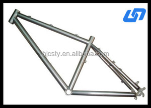 hot sale new design titanium road bike frame with low price