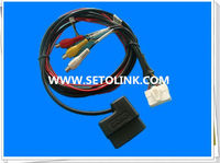 2014 HOT SALE 90 DEGREE OBDII 16 PIN CABLE J1962