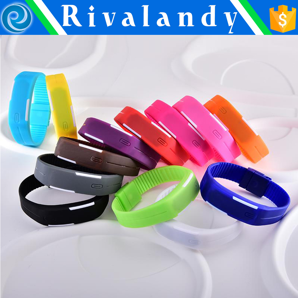 wholesale High quality silicone bracelet watch band
