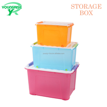 Home Office Plastic Large Storage Boxes Containers With Lid 40L, 60L,95L