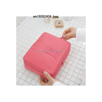 Hot sale travel storage bag zipper durable small bag pouch