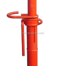 China Manufacturer High Strength Adjustable Steel Scaffolding Props for Construction Formwork