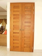 Solid Timber Door and Door Frame