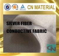 silver fiber kntting conductive radiation protection fabric