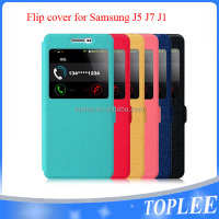 New design! flip cover for samsung J5 J7 J1 phone case
