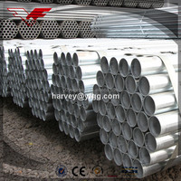 hot dipped galvanized steel pipe 4 inch 500g zn coating