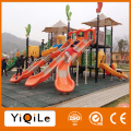 High-end outdoor playground slide attractive rocket outdoor playground equipment Guangzhou