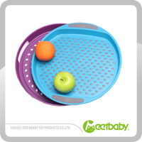 Utility Good quality Eco-friendly bamboo fibre tray