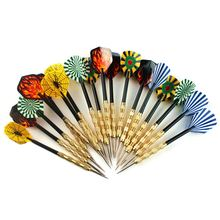 Steel Copper Needle Tip Dart Darts With Nice Flight Flights Throwing Toy