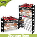4 Tier Big Size Plastic Shoe Rack Stand For 20 Pairs