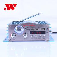 Mini Hi-Fi car amplifier YW-381 DC 12v 4-channel