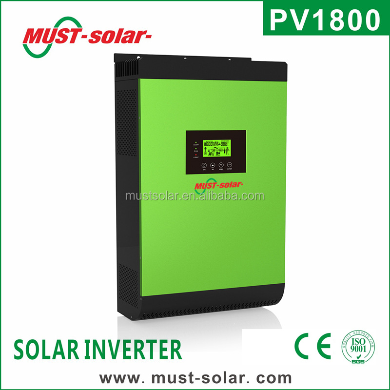 4000W Best hybrid solar inverter PV1800 series solar home system
