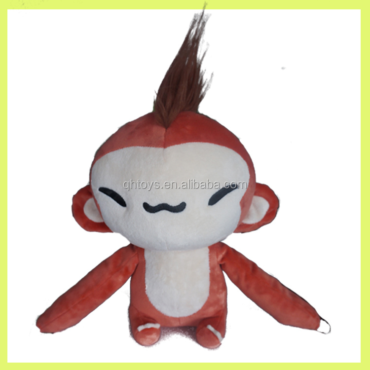 factory whole sales Events Promotional plush Monkey Mascot