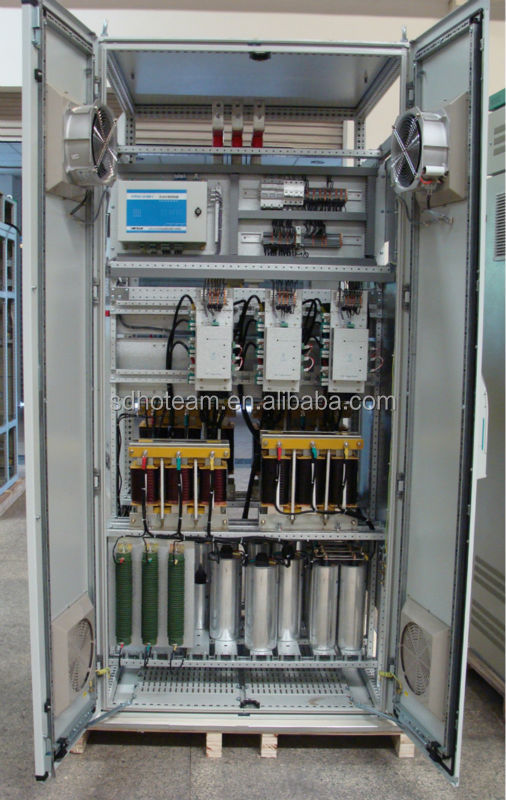 Low Voltage Capacitor Bank Power Factor Correction