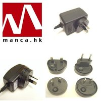 Manca. HK--Interchangeable AC Plug Switching Power Supplies