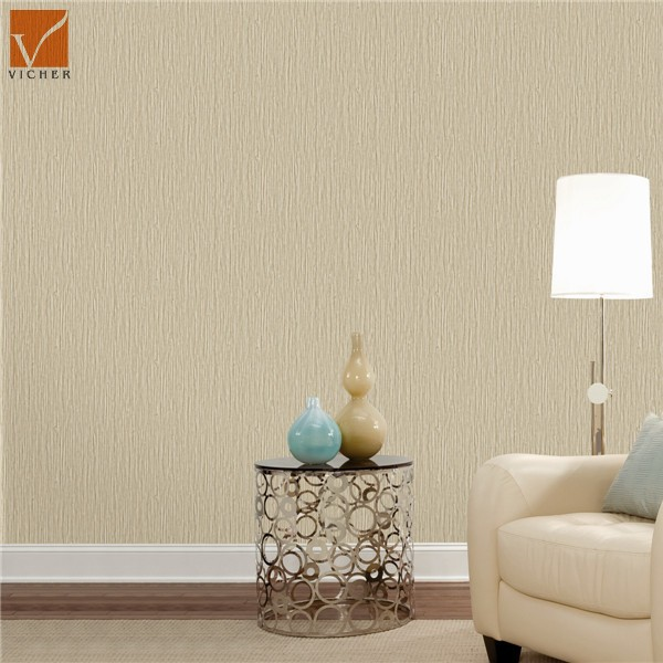 Cheap modern plain wallpaper for hotels offices apartments for Plain white wallpaper for walls