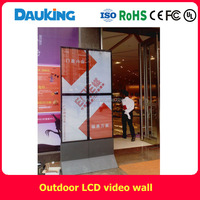 40inch 20 mm bezel outdoor sun readable lcd video wall advetising display