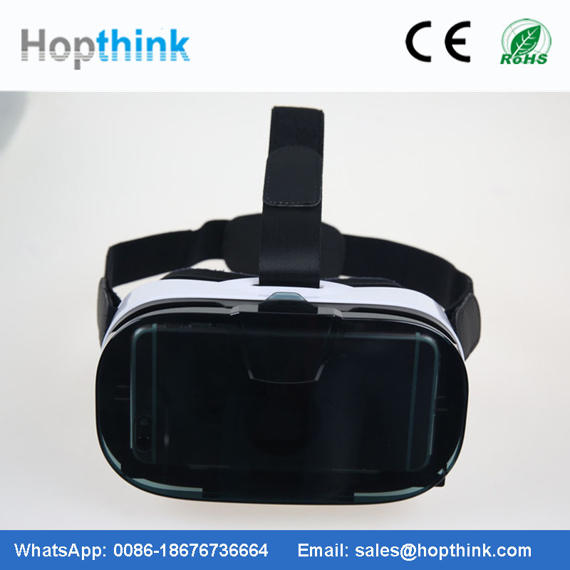 2016 Virtual Reality 3d glasses tv for hot blue films video 3gp mobile movies OEM factory for google cardboard glasses