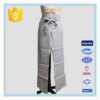 Hot Sales Plus Size Casual Side Pocket Straight Linen Pants For Lady