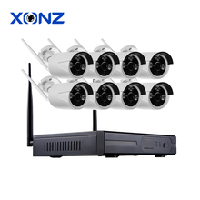 IR HD Home Security Wifi Wireless IP Camera System 960P NVR Surveillance Complete CCTV Set 8CH