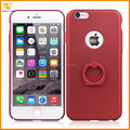 plastic rubber cover for apple iphone 6/6s with ring