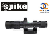 SPIKE Tactical 532nm Small Hunting Green Laser Sight Flashlight for Pistol .40 Air Rifle Air Guns