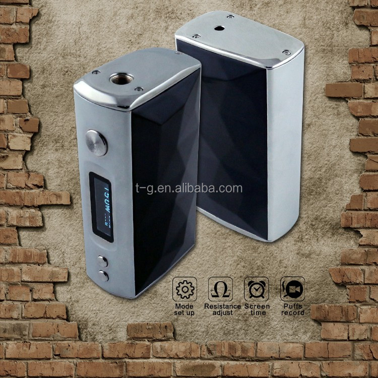 new arrival 18650 electronic cigarette mods mechanical box mod 150w high end fast caharge e-cigarette