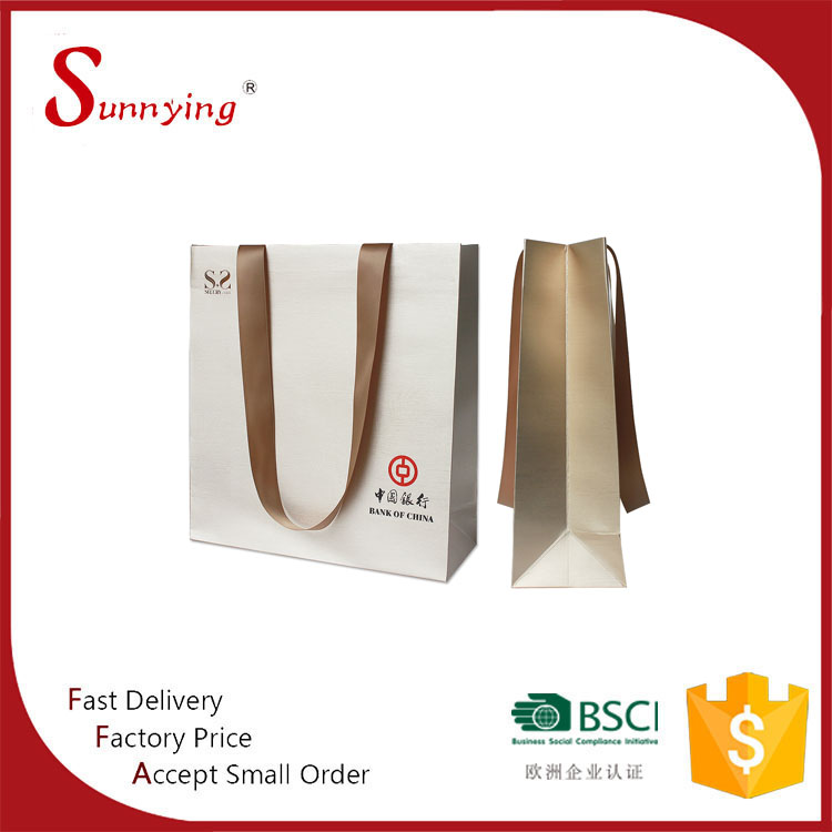 Fancy Color Low Cost Retail Luxury Famous Brand Advertising Shopping Art Paper Bag For Door Gift With Square Bottom