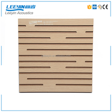 high quality sound absorption carved pattern wall perforated acoustic ceiling panel for cinema
