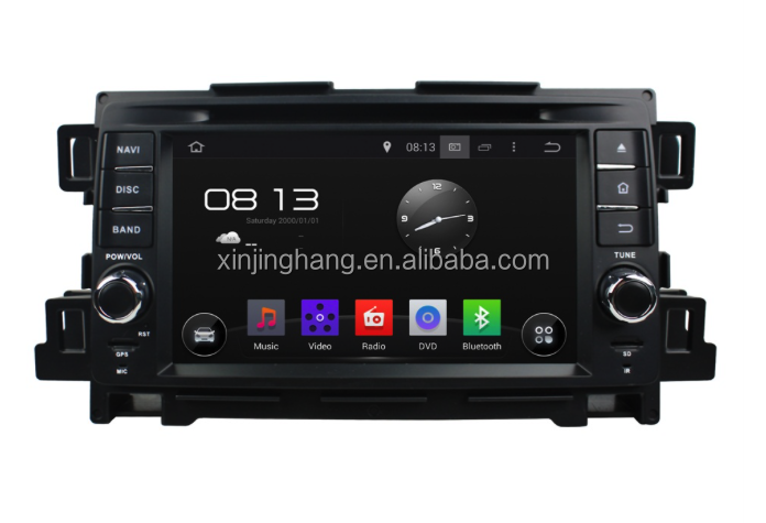 Mazda cx-5 7 inch android 5.1 system navigation with dvd player rearview camera bt
