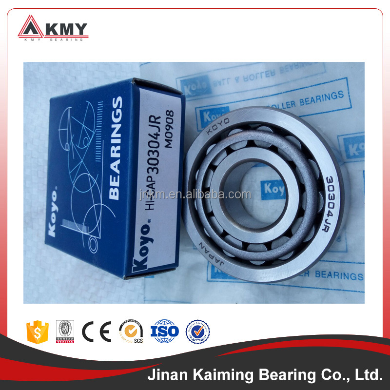 Japan KOYO bearings 30304JR taper roller bearings 30304