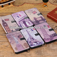 FL2956 Guangzhou hot selling stand big ben wallet leather flip case for samsung galaxy note 3 n9000