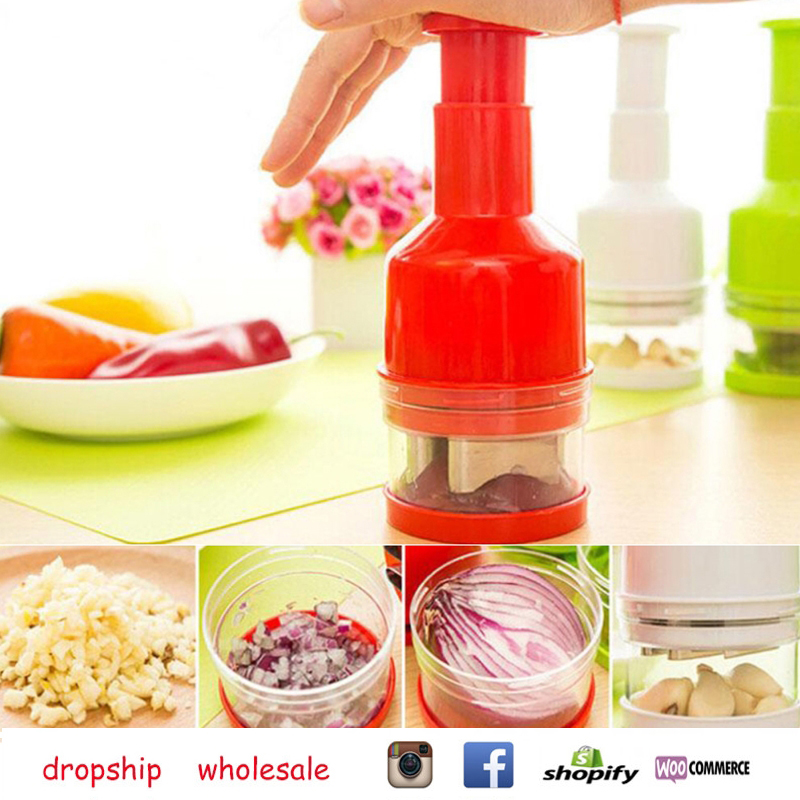 Kitchen Multi-function Vegetable Onion Garlic Chopper Dropship