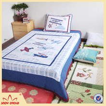 China Factory bedding Sets Outstanding Quality patchwork quilt with microfiber filling