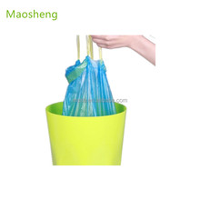 Hotsale colored drawstring trash garbage bag