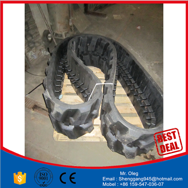 your excavator rubber track conversion system kits EX14SR track rubber pad 230x72x42