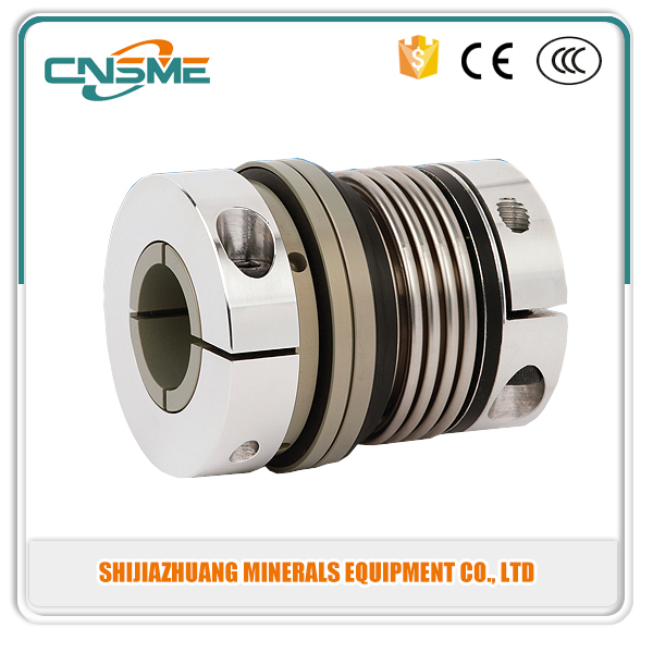 Motor Helical Shaft Coupler bellows Coupling Connect Encoder