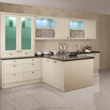 disassembled pvc cabinet kitchen furniture with soft closing drawers
